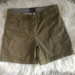 Maison Scotch Khaki Shorts
